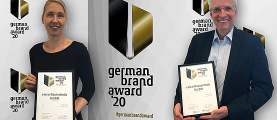 German Brand Award für emco Bau