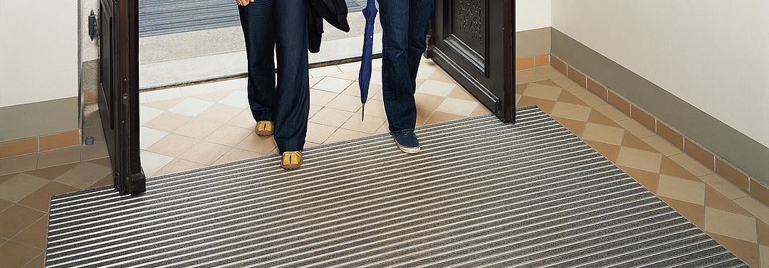 Entrance mat systems for residential properties