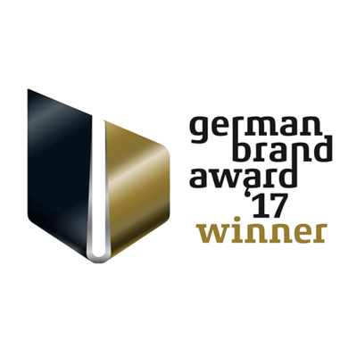 Swimming pool grate with German Brand Award