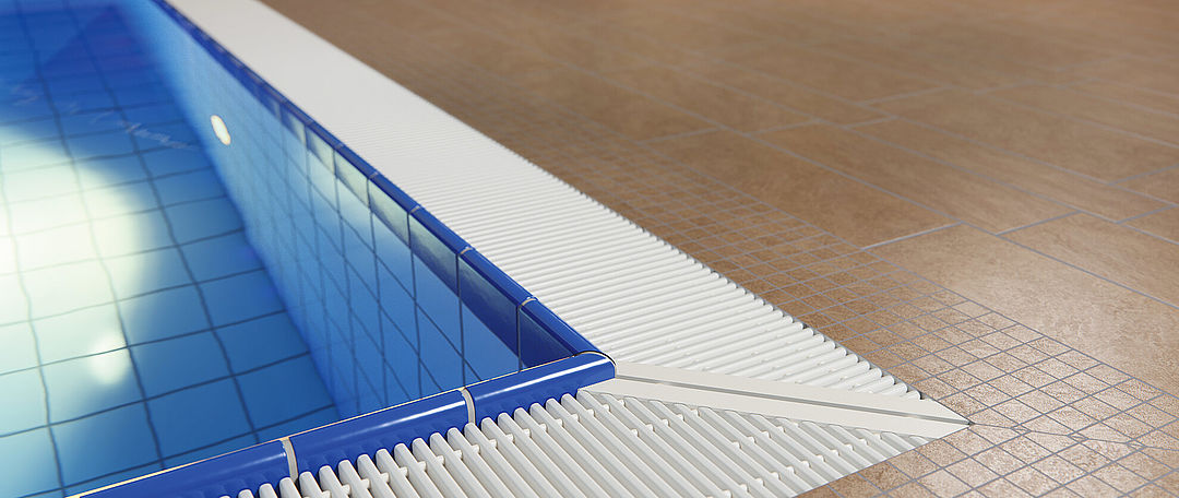 Swimming pool grates for modern pools