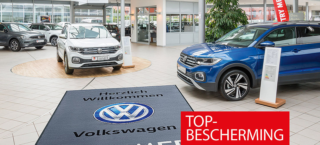 Logomatte Business bei VW