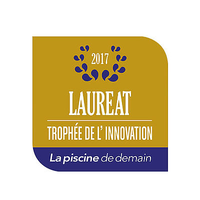 Swimming pool grate with Laureat Award
